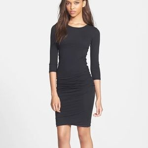 James Perse Side Ruched Dress